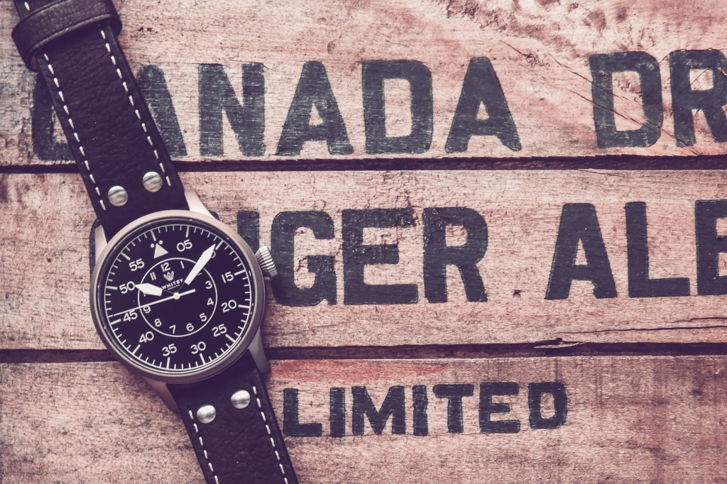 Whitby Watch Company Arrow Pilot Watch (Flieger)