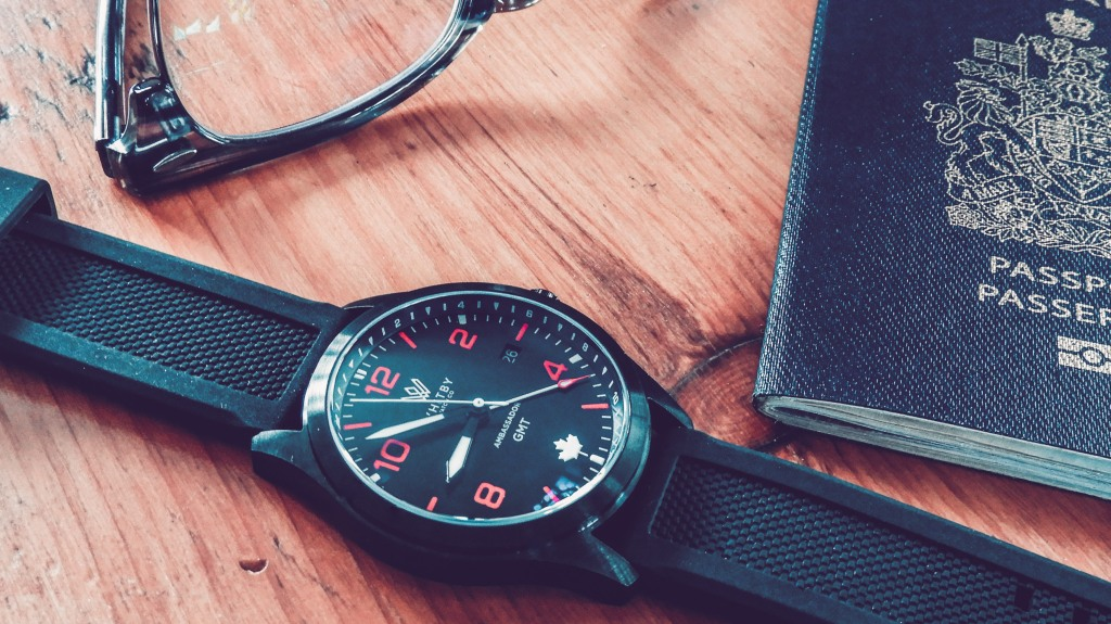 Whitby Watch Co. Ambassador GMT Ronda Quartz Microbrand Watch