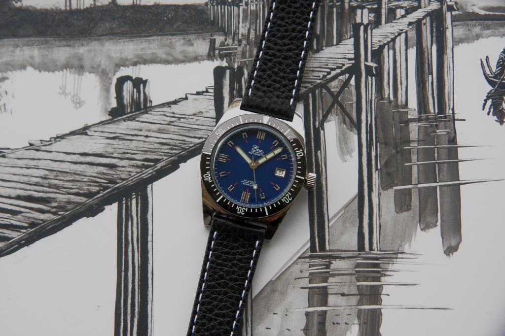 Eza Vintage 1972 Microbrand watch Review