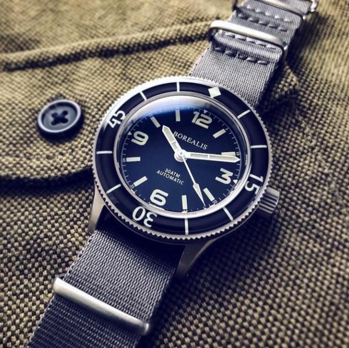 Borealis Watch Company Sea Storm Neptuno Watch Review