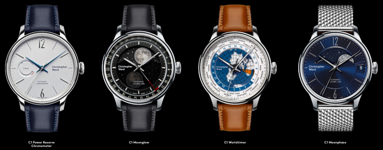 Christopher Ward C1 Moonphase C1 Worldtimer C1 Moonglow Microbrand Watch Review
