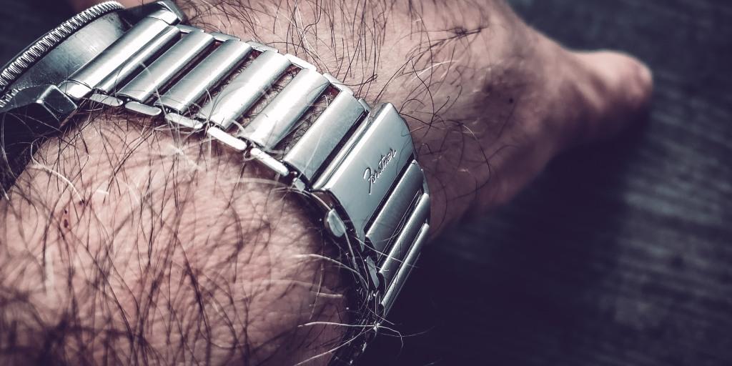 Forstner Watch Band The Klip Bracelet Stainless Steel