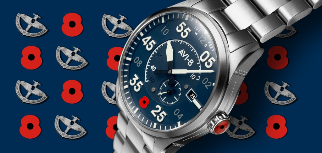 The Limited Edition Spitfire Type 300 Royal British Legion by Avi-8. Watch Review.