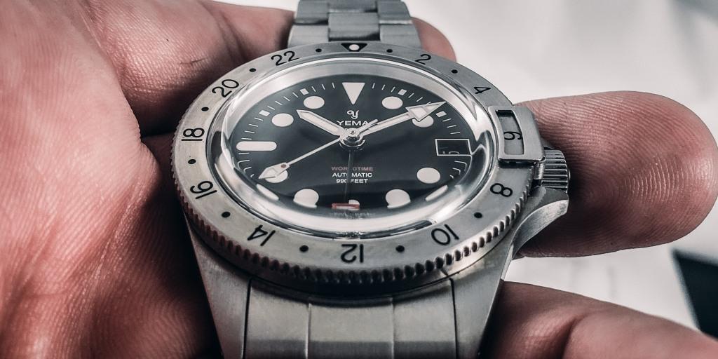 YEMA Superman Worldtime GMT Steel Microbrand Watch Review