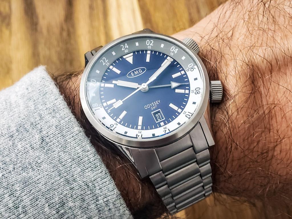 EMG Odyssey GMT Microbrand Watch Review