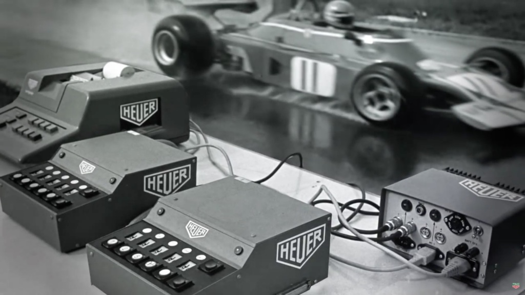 TAG Heuer Ferrari Timekeeping 1971 Motorsports and Watches