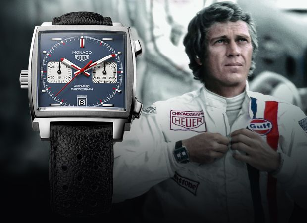 TAG Heuer Monaco Steve McQueen Motorsports and Watches