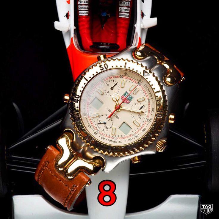 TAG Heuer Ayrton Senna Link Motorsports and Watches